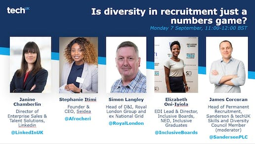Is diversity in recruitment just a numbers game?