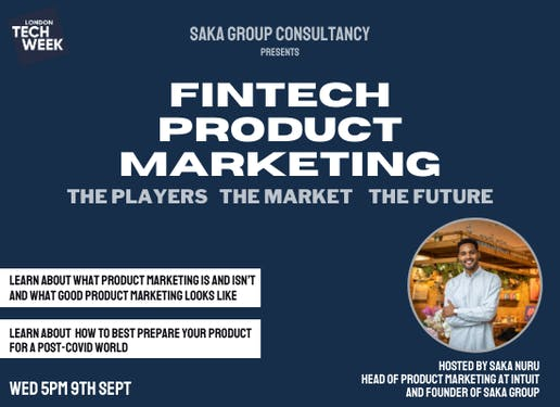 FINTECH PRODUCT MARKETING: The Players, The Market, The Future