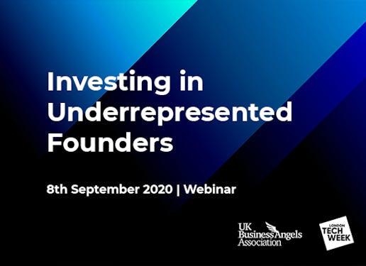 Investing in underrepresented founders