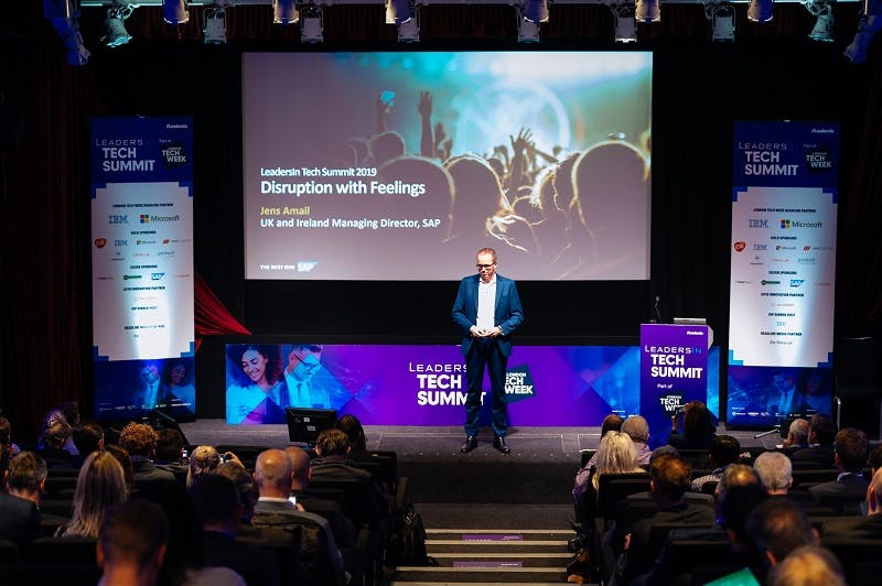 inspiring leader of the year award at london tech week