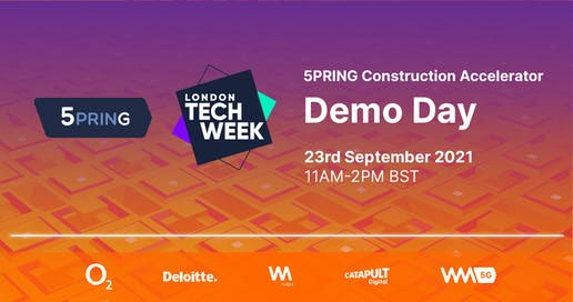 5PRING | Construction Accelerator | Demo Day